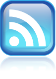 3D RSS icon with reflection