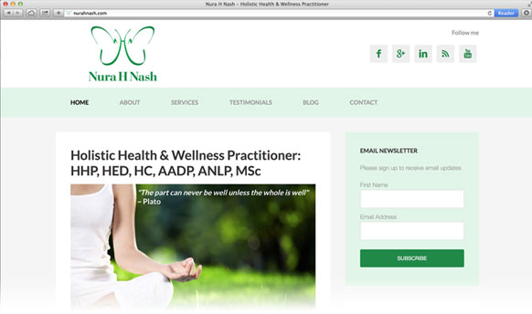 nura h nash health and well-being