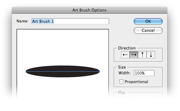 art brush options illustrator