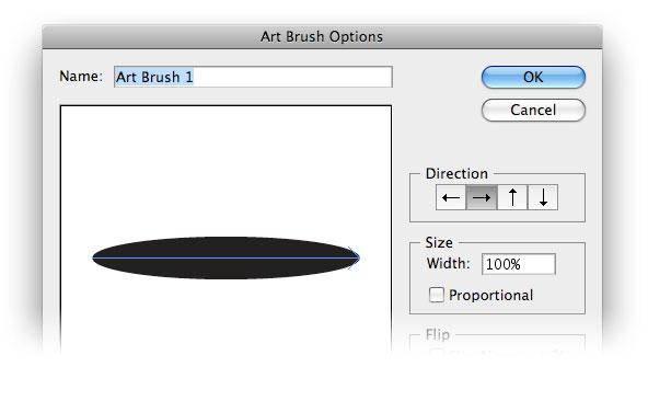 art brush options illustrator