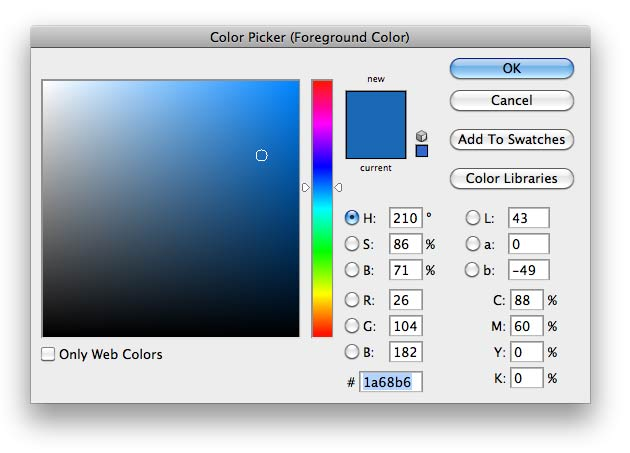 color picker photoshop