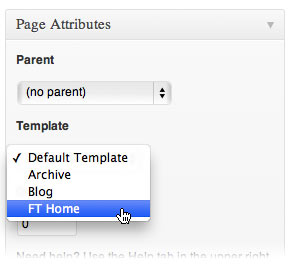 selecting-page-template-wordpress