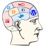 Social Media Profile Links – HTML and CSS