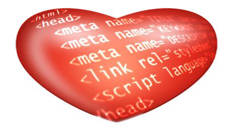 heart html
