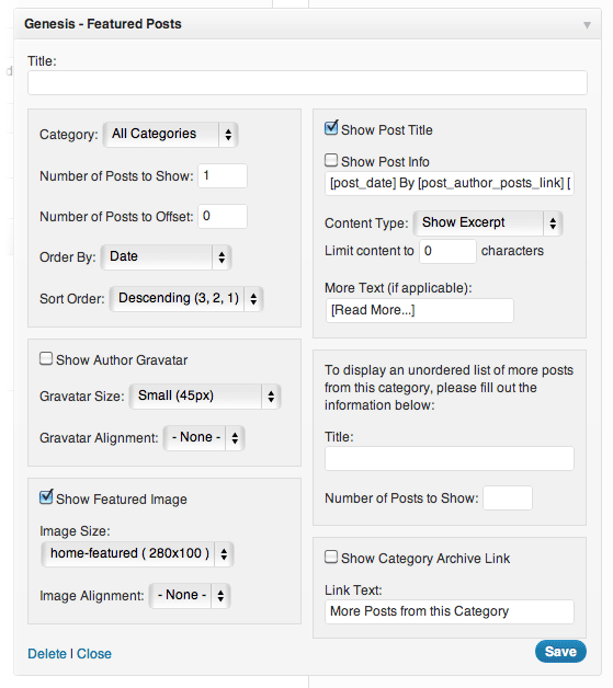 genesis-feature-posts