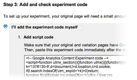 step-three-google-experiments