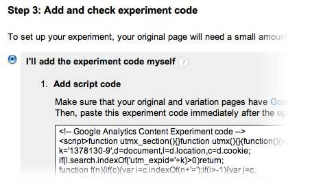 step-three-google-experiments