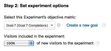 step-two-google-experiments