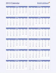 calendar-2013-year-to-a-page