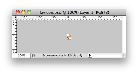 favicon photoshop file
