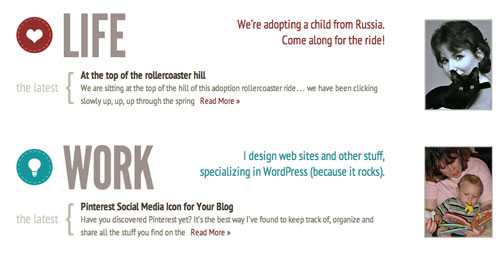 randa clay portfolio website