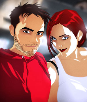 David and Sarah Cousens