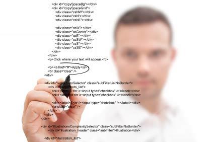 designer-coding-a-website