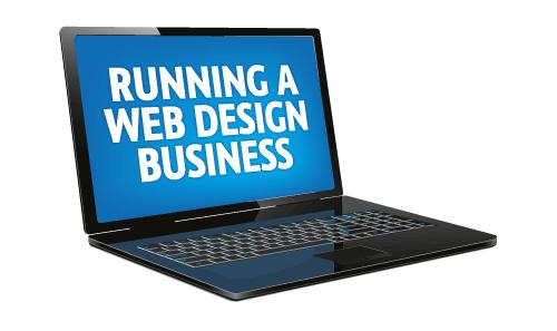 running a web design business