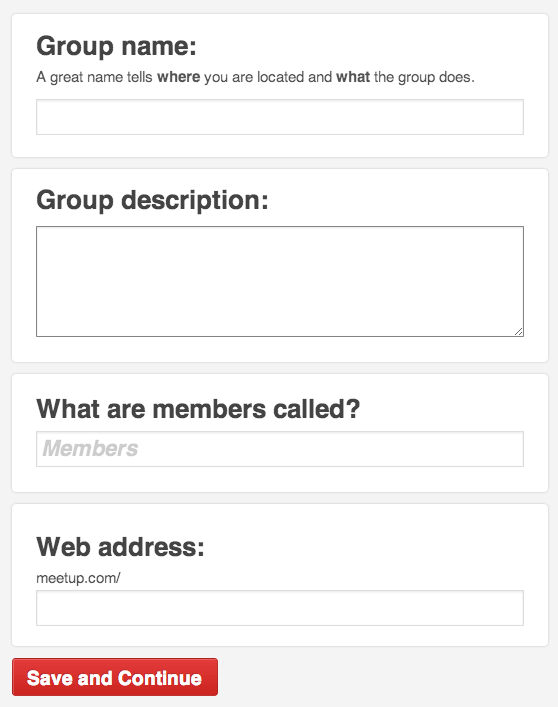 group details