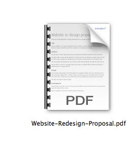 Download Free Web Design Proposal