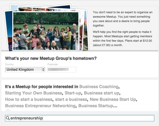 how to start up a group