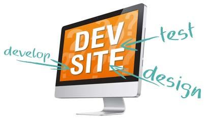 develop test site
