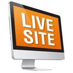 live site