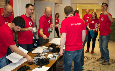 WordCamp London volunteers