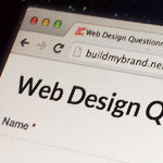 Web Design Questionnaire (Online Form and Document Download)