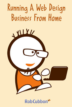 running a web design business from home book