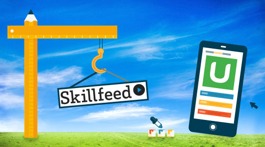 udemy skillfeed illustration