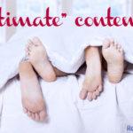 intimate content