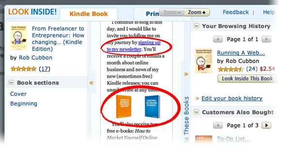 first 10 percent of Kindle