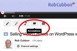annotation button