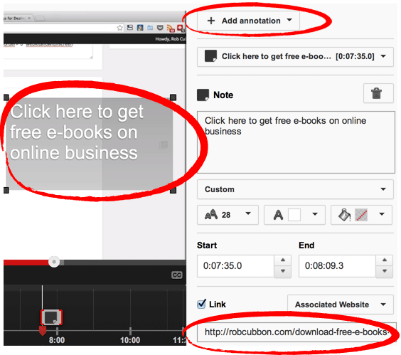 youtube-annotation-to-associated-website