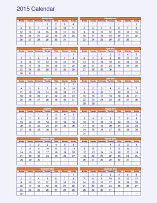 2015 calendar pdf upright