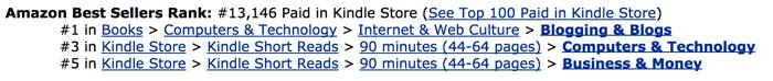 bestseller categories