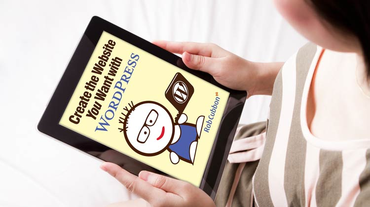 e-book on iPad in models hands