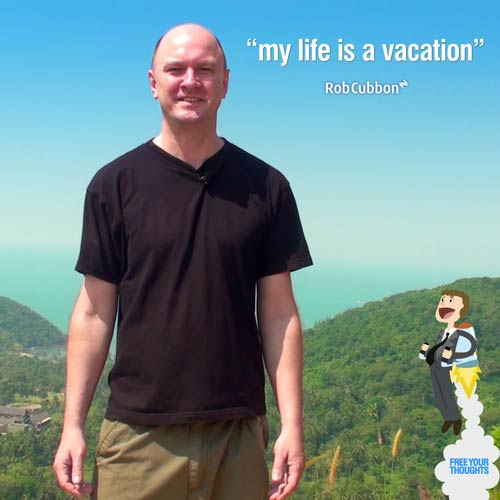 my life is a vacation