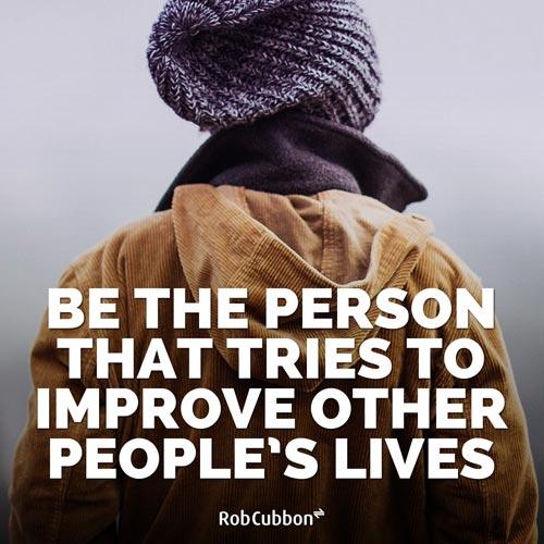 improve lives