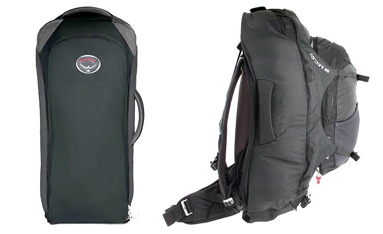 Osprey-Farpoint-55 digital nomad backpack