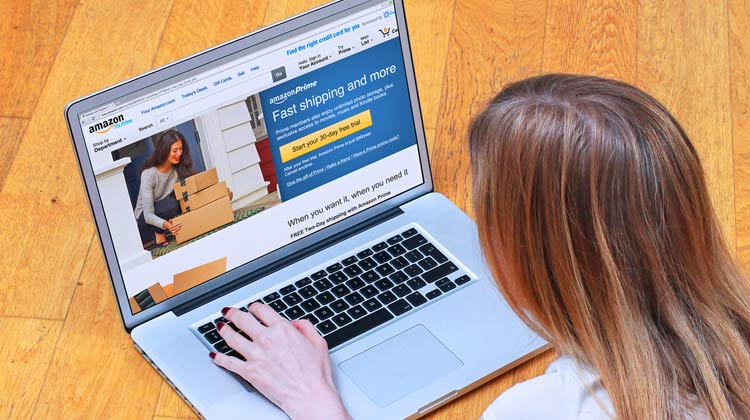 browsing amazon Introduction to Amazon FBA and Starting an E-Commerce Lifestyle Business