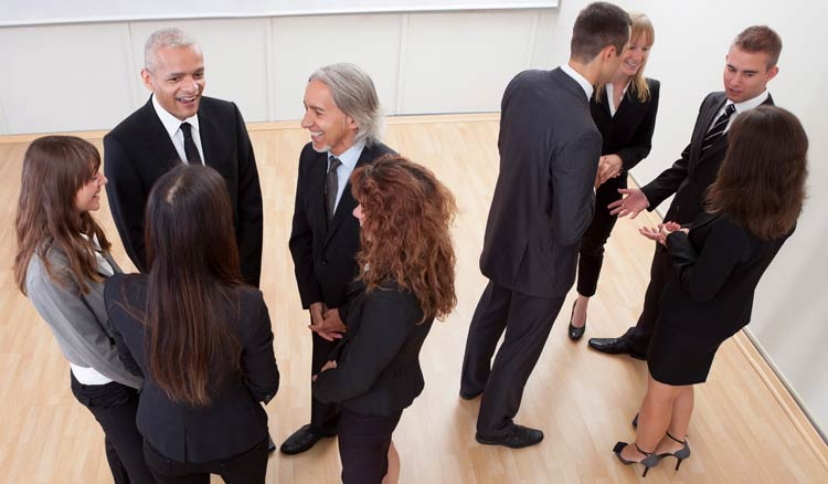 wanting to know how to find clients? try to meet people face to face at conferences and meetups