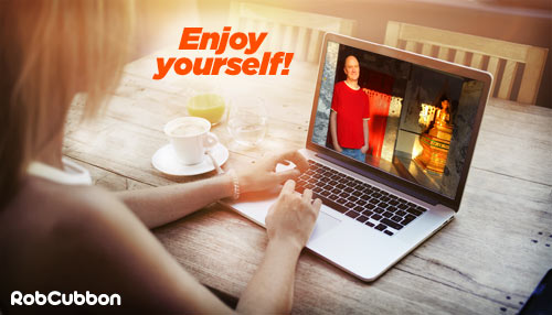 enjoy your online business