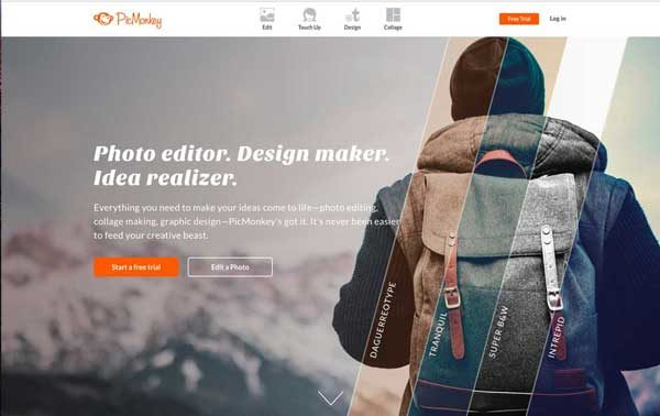 PicMonkey is an online and mobile app to edit your images.
