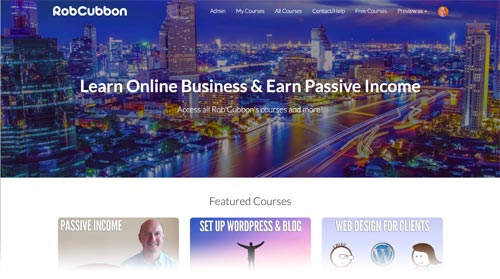 courses robcubbon new teachable site
