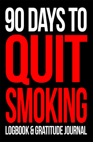 90 days to quit smoking logbook and gratitude journal
