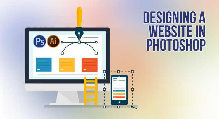 Designing A Web Page With Photoshop