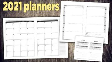 2021 planners pdf indesign for amazon kdp
